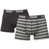 Puma Mens Stripe Boxers - Pack of 2